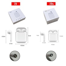 Get more info on the 10PCS i9 i9s tws wireless bluetooth headphones ture stereo Earphones earbuds with magnetic charger case silicone protector case