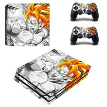 Anime Dragon Ball Z PS4 Pro Skin Sticker Vinyl Decal Sticker