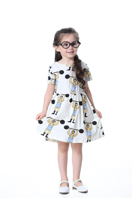 TTONCEN novinka Summer Baby Girls Princess Dress cartoon roztomilá - Dětské oblečení