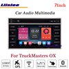 Liislee For TruckMasters OX Stereo Android Radio DVD Player Mirror Link BT GPS MAP Navigation 1080P
