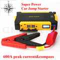2017 New Car jump starter 16000mAhGreat discharge rate Diesel Auto power bank for car Motor vehicle booster start jumper battery