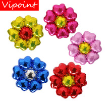 VIPOINT PARTY 45x45cm gold pink blue yellow flower foil balloons wedding event christmas halloween festival birthday party HY-72