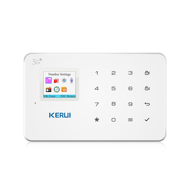KERUI Wireless G183 WCDMA 3G Wireless Home Security GSM 3G Alarm system APP Remote Control Burglar Alarm|Alarm System Kits| |  - title=