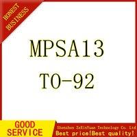 100PCS Transistor MPSA13 A13 0.5A/30V NPN DARLINGTON TO 92 DIP|Battery Accessories & Charger Accessories|   -