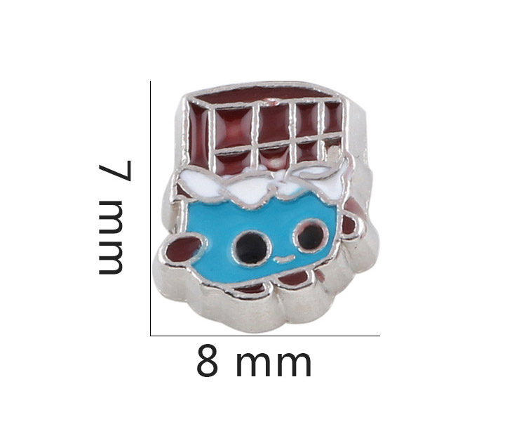 Free Shipping, 20pcs Enamel Floating Charms Fit For Glass Living Memory Lockets, Gifts