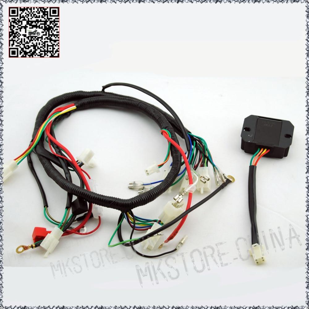 online get cheap lifan wiring harness aliexpress com alibaba group 250cc rectifier quad wiring harness 200 250cc chinese electric start loncin zongshen ducar lifan