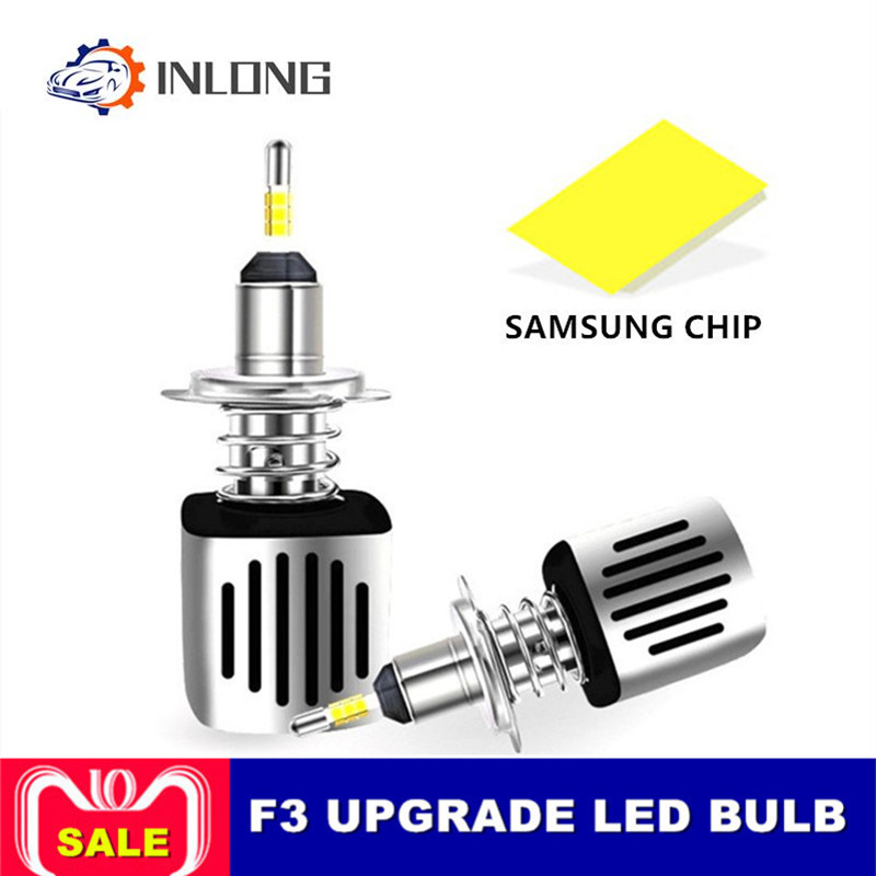 INLONG H4 H7 9005 9006 Car LED Headlight Bulb H11 H9 D2S D1S HB4 D3S H1