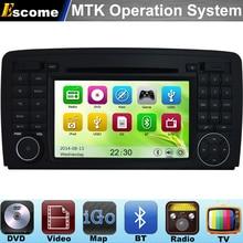 MTK3360 Car DVD Automotivo For Mercedes-Benz R W251 (2006 onwards) R280 R300 R320 R350 R500 with Bluetooth Radio GPS Navigation