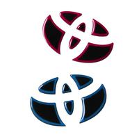 Car Stickers Car Emblems For Toyota Rav4 Corolla Avensis Prius 3d Sticker Styling For Car Logo