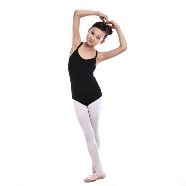 5 colors cotton Camisole Ballet Leotards for Girls Ballet Dance Dancewear Gymnastics Leotard Strap Dress for 100-155cm