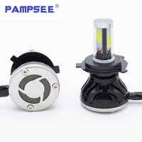 PAMPSEE Car Styling H4 Car Led Headlight H11 H7 Led G5 80W 8000LM 6000K 360 Degree
