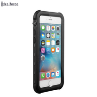 For Iphone 7 7Plus Waterproof Diving Photograph Case Underwater Watertight Cover PC TPU Armor Cases