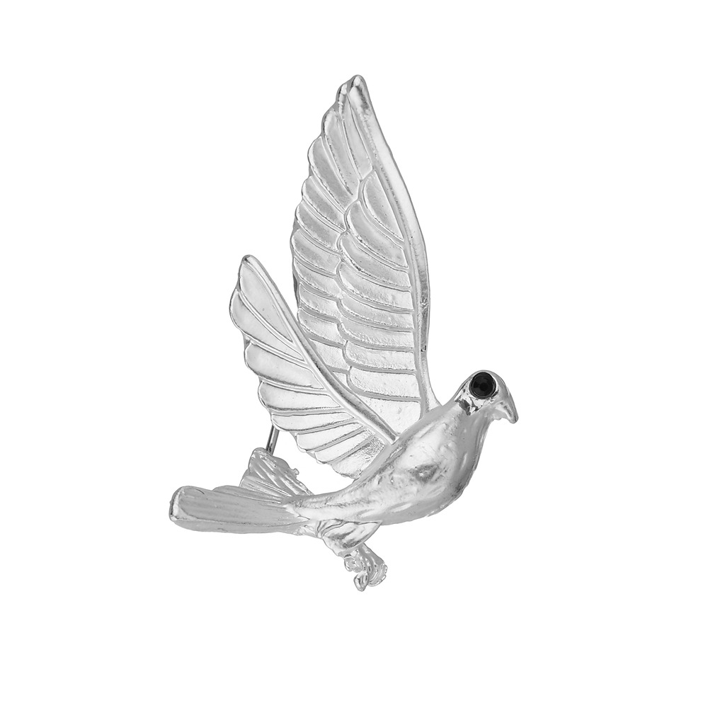 0bb6c3a1b High Quality Charm Peace Dove Brooch Animal Wild Sweet Vintage Brooches For  Women Fine Jewelry Brooch