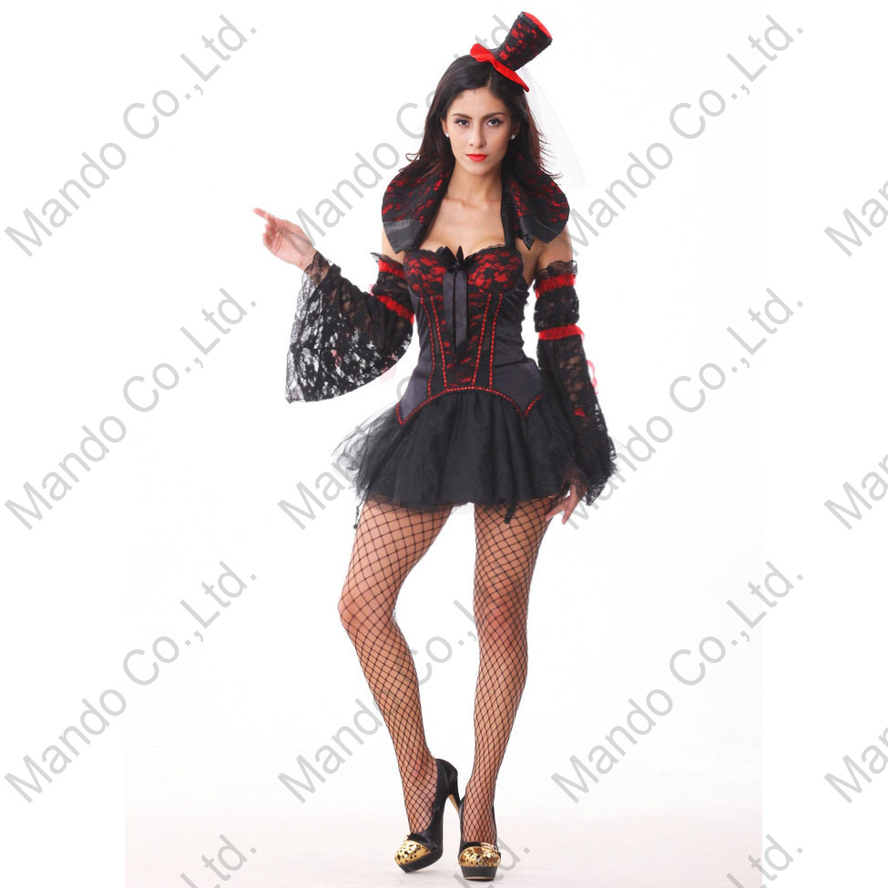 Evil witch Girls Carnival Sexy Fancy dresses Adult Womens Fancy Dress Gothic vampire queen Cosplay Costume Halloween Outfit
