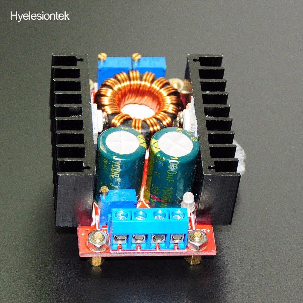 DC DC Boost Converter Voltage Regulator CC CV DC-DC Step Up 10-30V To 12-35V 150W 10A Power Supply Driver Charger Adjustable DIY