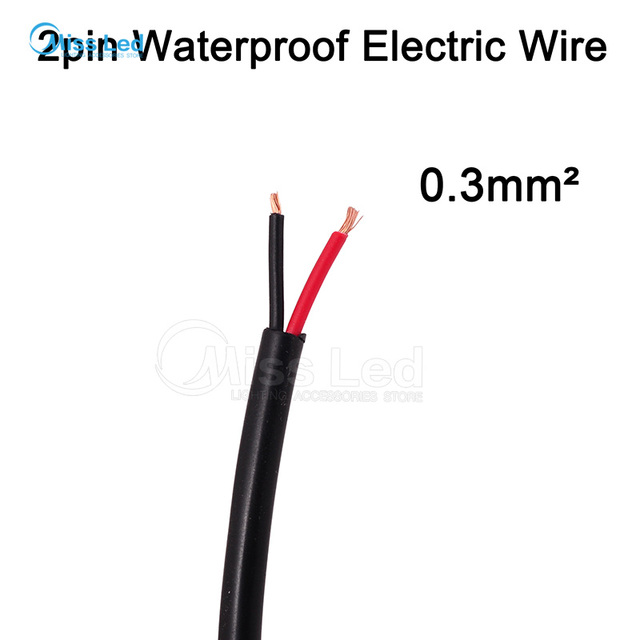 Aliexpress.com : Buy Wholesale 50m 2pin waterproof electrical cable ...