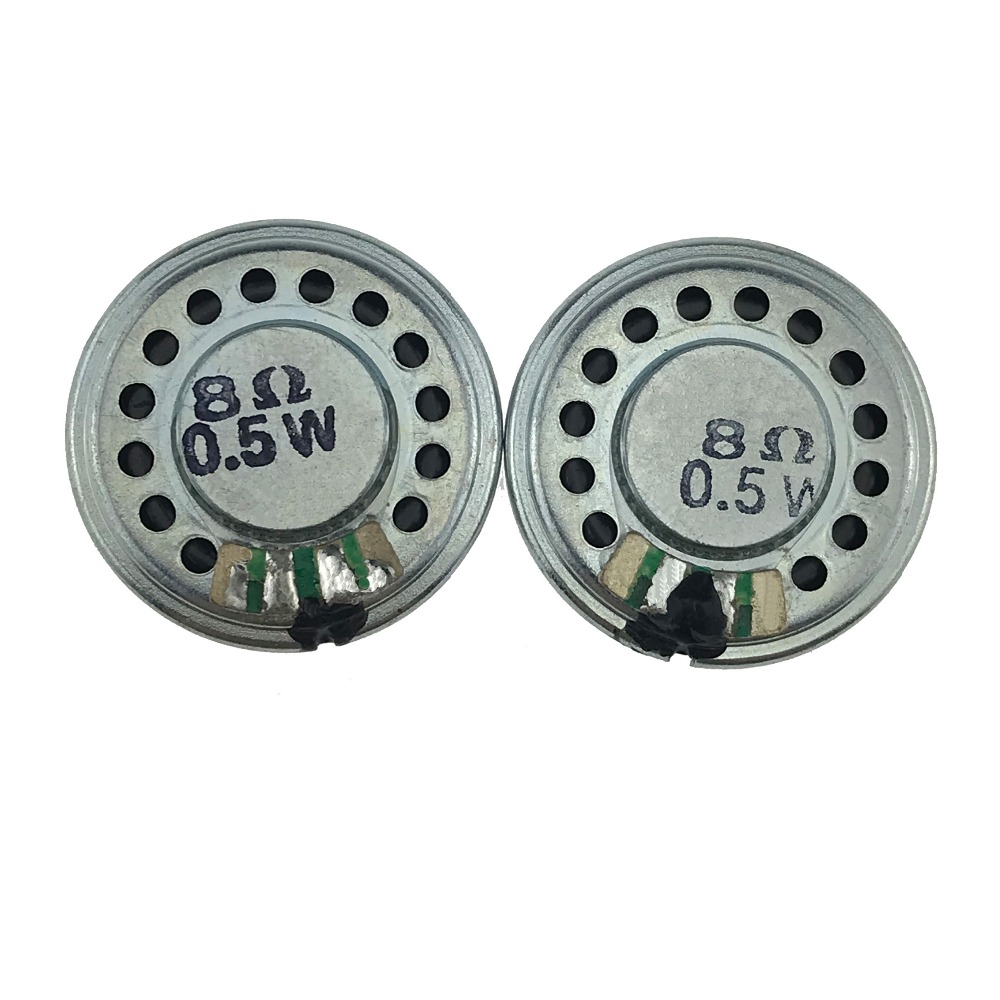 (10 Teile/los) Mini Lautsprecher 0,5 Watt 8 Ohm 8r 8ohm Lautsprecher Durchmesser 28mm Dicke 4,6mm Kleine Horn
