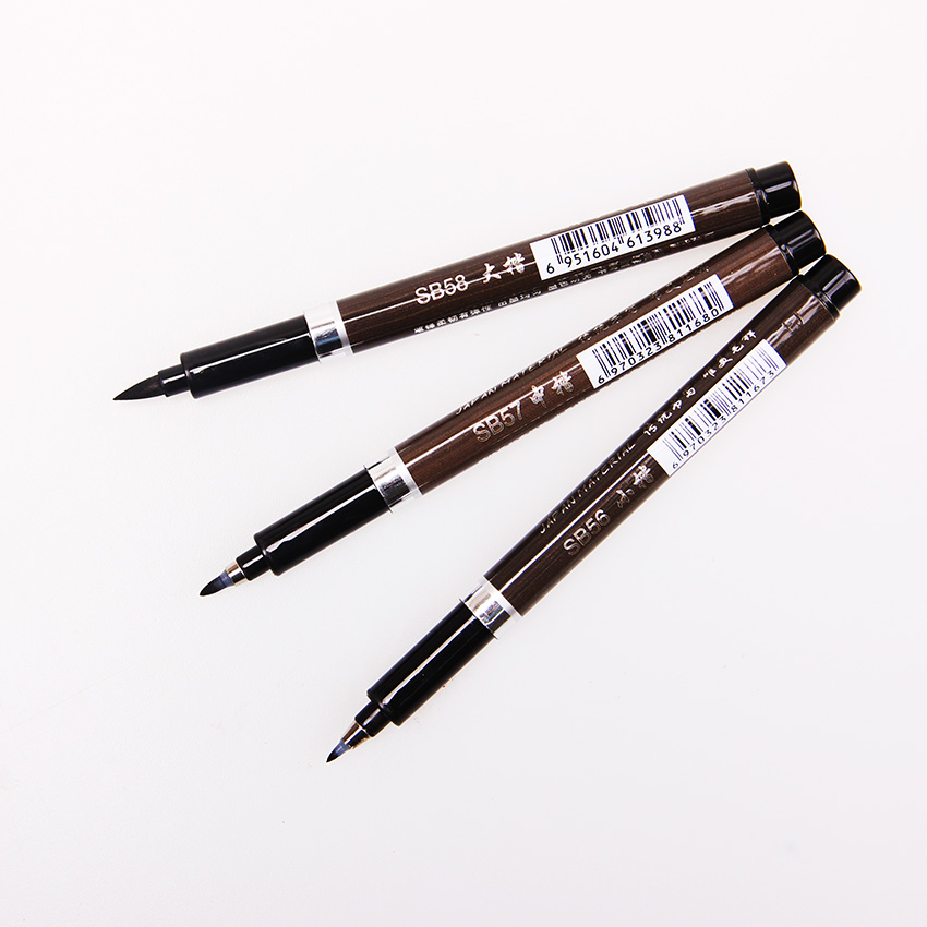 Online buy wholesale chinese brush painting from china Chinese calligraphy brush