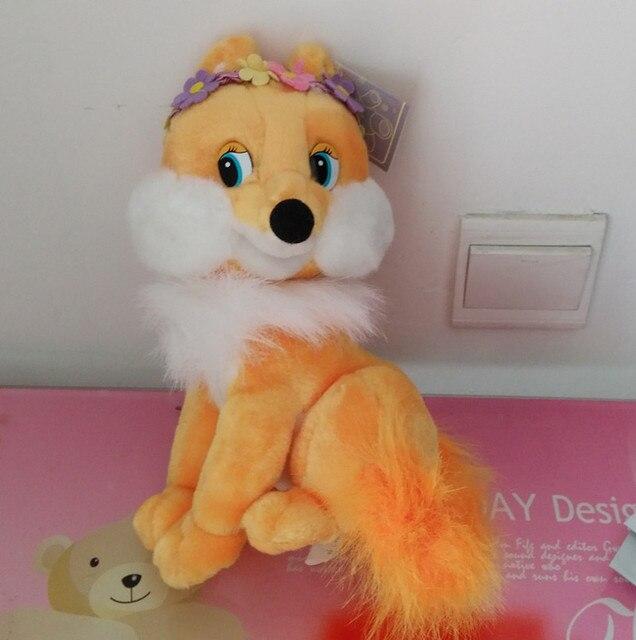 Русский язык песни петь плюшевые гирлянда богиня фокс мягкий кукла, Электронные игрушки для детей, День рождения рождественский подарок