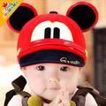 2016 весна ребенка утка язык шляпа шляпа солнца Красивая девушка boy Mickey приливные cap бейсбол детей cap в возрасте 0-3Free доставка