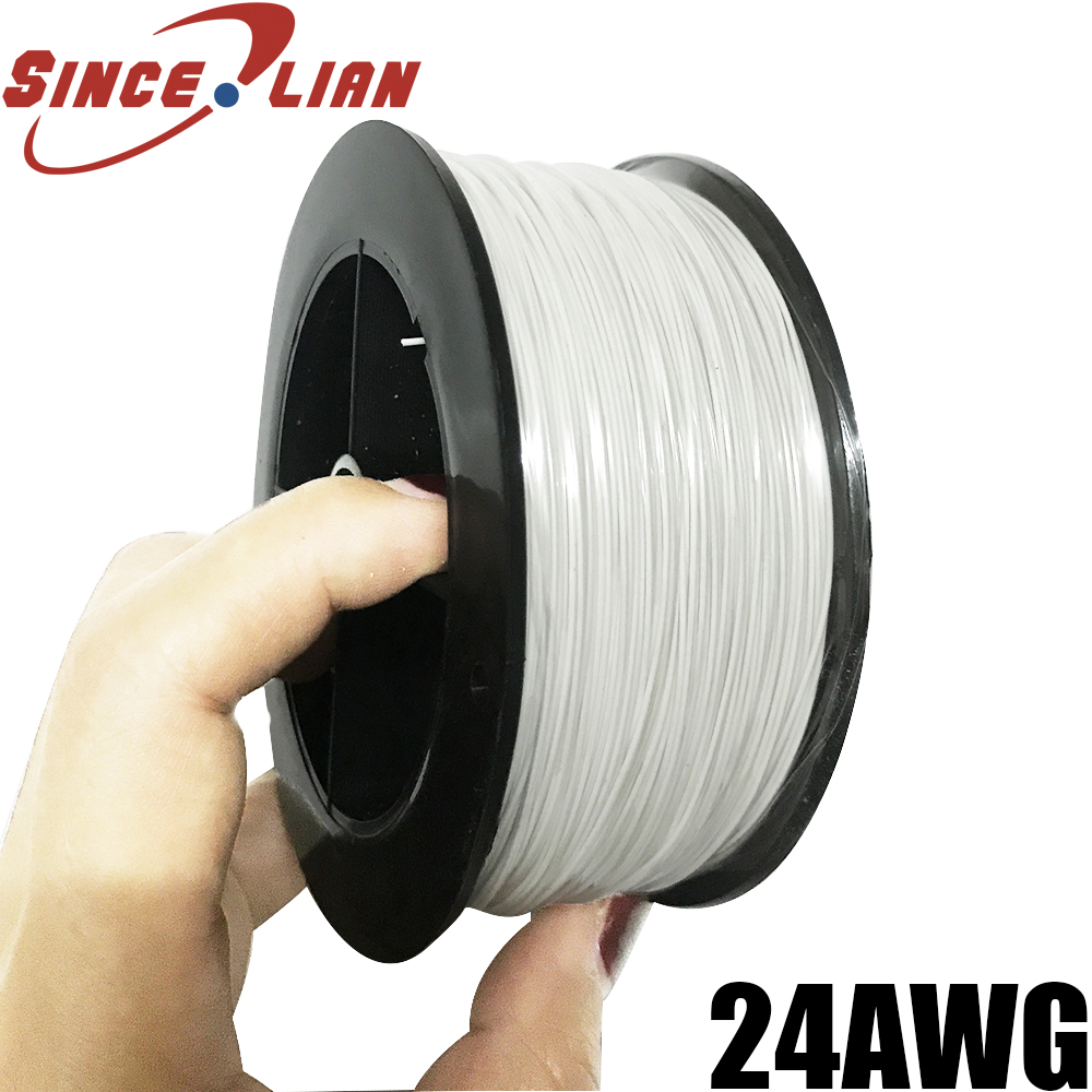 P N B24 500 US Imports OK Line 153 Meters Wrapping Wire High Temperature Resistant Silver
