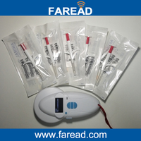 Free Shipping X50 Veterinary Syringe 1 Pc Animal ID Reader ISO11784 5
