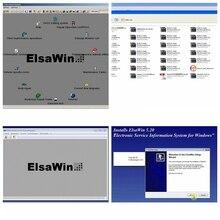 Hohe qualität ElsaWin 6,0 auto reparatur software elsawin 5,3 Elsa Win 5,2 HDD Elsawin6.0 diagnose professionelle werkzeug für auto/ lkw