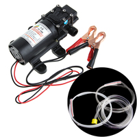 12V Electric Extractor Pump Transfer Oil Fluid Diesel Siphon Car Motorbike 60W
