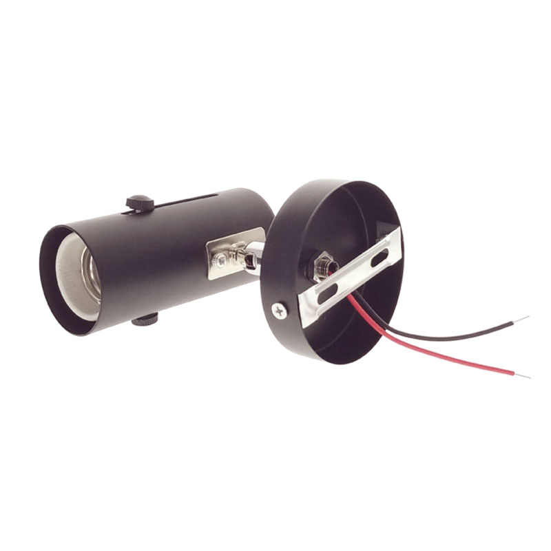 360 Degree Steering E27 Lamp Base Holder High Temperature Resistant Ceramic Screw Ceiling Holder Socket For Pet Heating Lamp