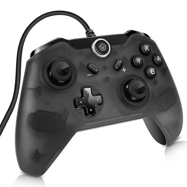 USB Wired Controller Gamepad For Switch Pro Console Game Joypad For Nintend For Switch Joystick For PC Windows With 2.2m cable