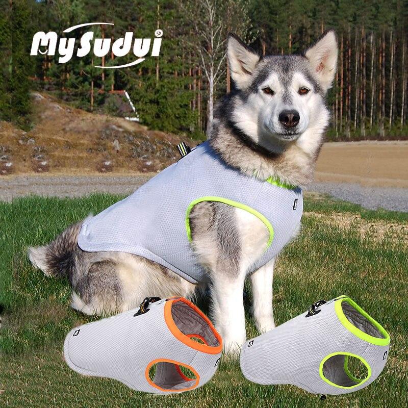 Truelove Pet dog summer clothes cooling vest jacket reflective dog vest small big dogs mesh dog harness vest clothing bulldog