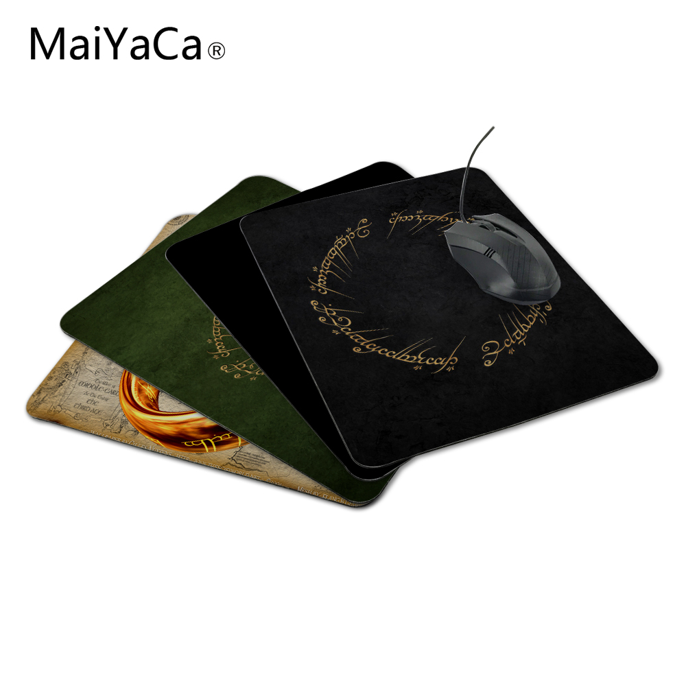 Maiyaca New Anti Slip Pc The Lord Of The Rings Movies Text