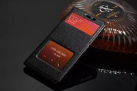 Xiaomi Redmi Note 2 Case Leather Cover Luxury Real Cow Leather Fundas Flip Case Red Mi