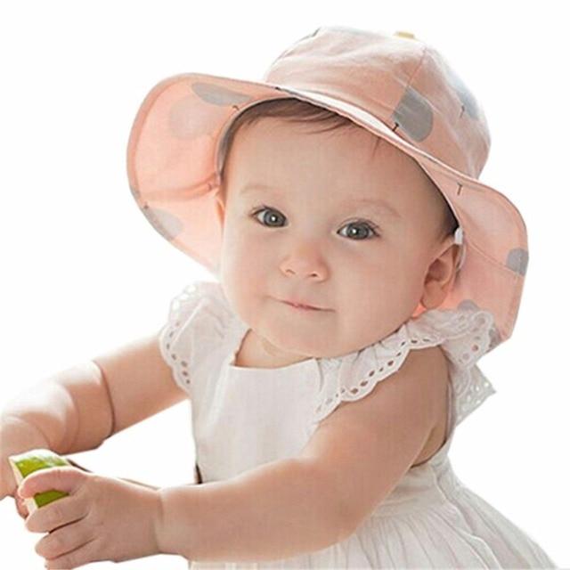 On sale baby summer hat Unisex Children s caps newborn infant sun hat kids  accessories cc551a725a3