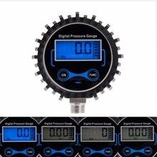 Digital Tire Pressure Gauge Car Truck Auto Motorcycle Tyre Air PSI Meter Pressure Monitor 0-230PSI 1/4