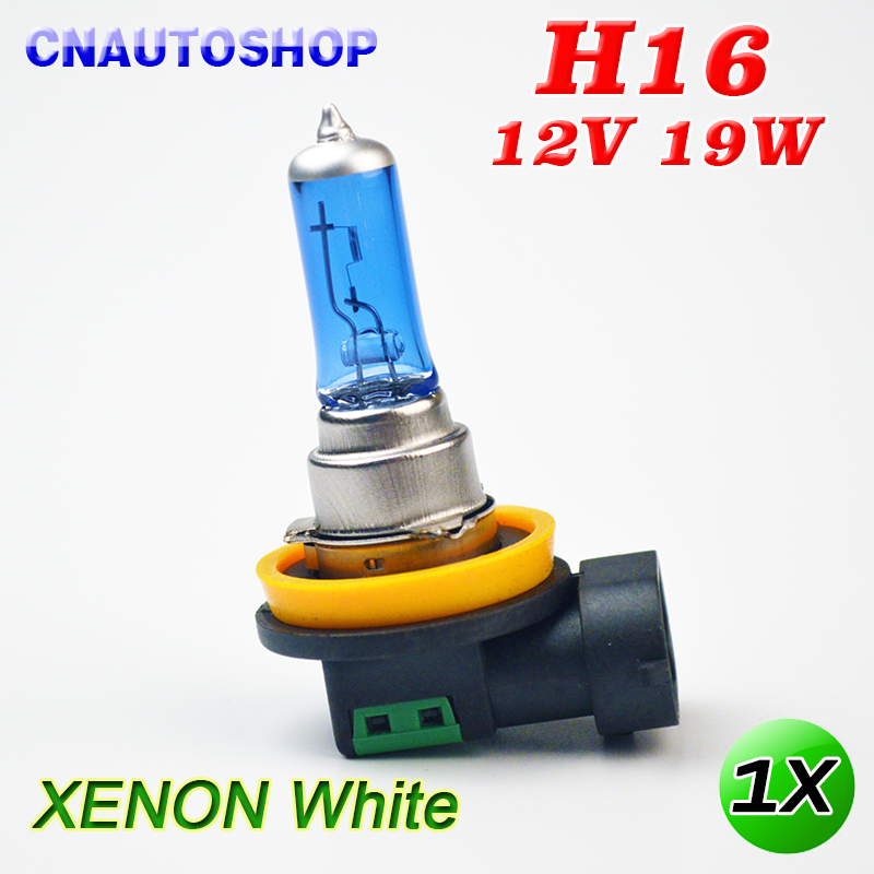 Super White H16 Car Halogen Lamp 12V 19W 5000K Dark Blue Glass Auto Headlight Bulb велосипед altair city high 28 19 2015 dark blue