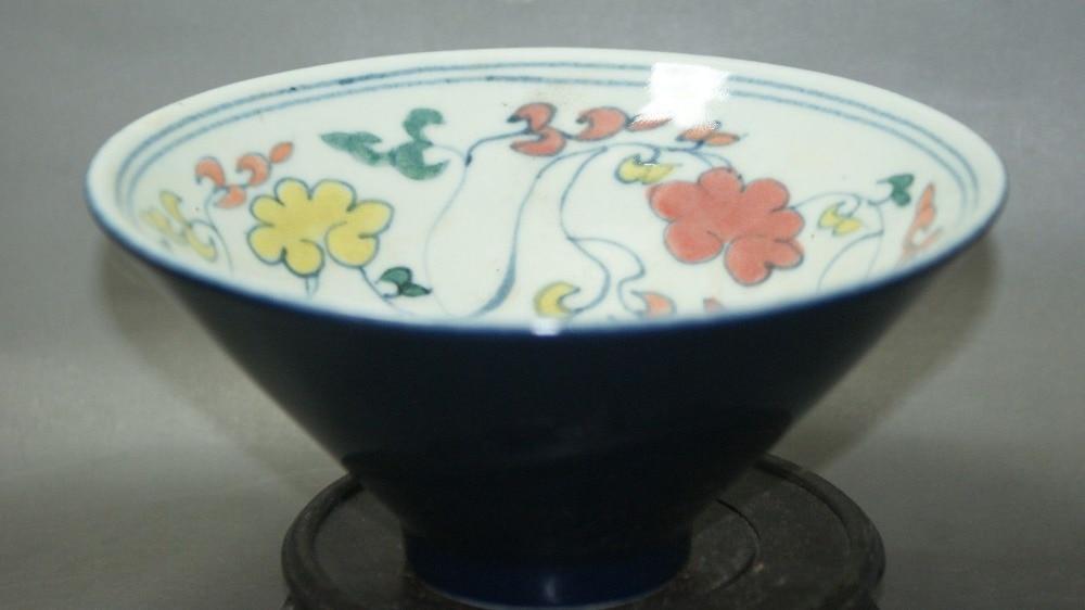 Изысканные старый китайский фарфор Ручная роспись чаши фарфоровые домашнего декора ручной работы Фарфор xuande Mark