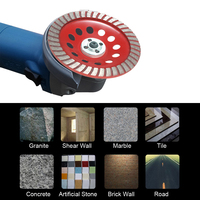 180mm 7 Abrasive Tools Diamond Segment Grinding Wheel Sanding Disc Sander Grinder Cup 22mm Hole For
