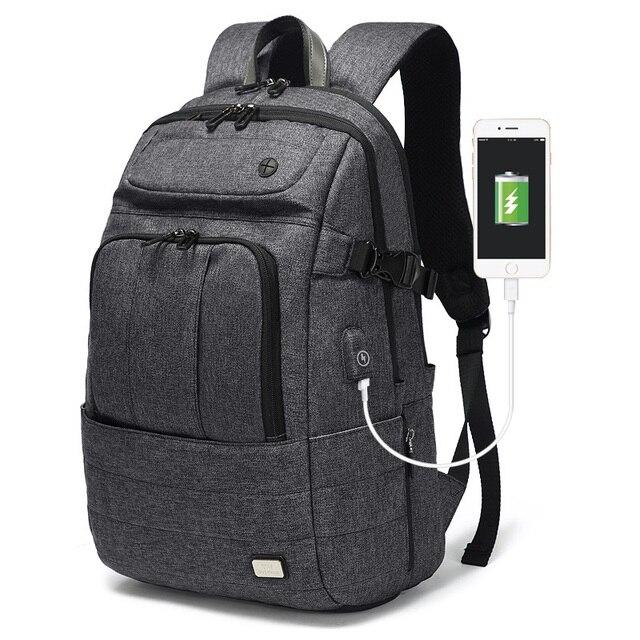 63b9823c31c4 2018 Multifunction Computer USB Charging 15.6 inch Laptop Backpack Men  School Bag Large Capacity Leisure Water Resistant Bags