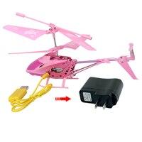 Vendita caldo Della Lega di disegno Mini RC Elicottero di Telecomando con luci di notte Built-In giroscopio Aereo Giocattolo Modello