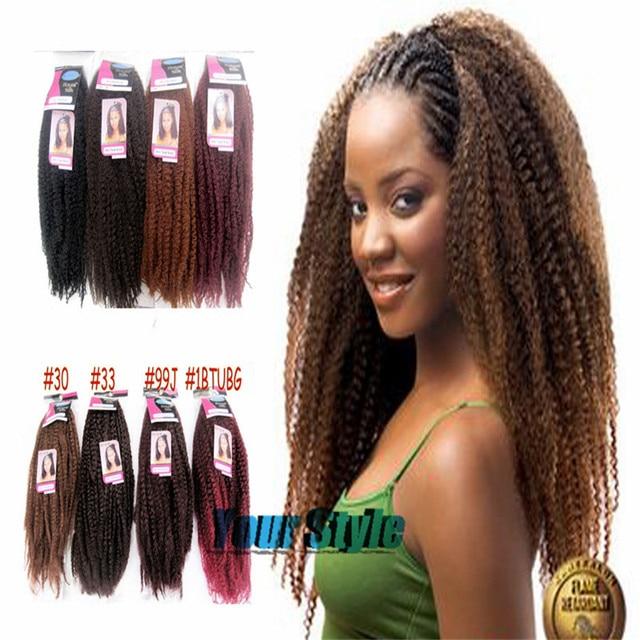 Afro Kinky Marley Braid Twist Braid Hair 18 80g Pack 40
