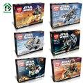 Star Wars Тема 6 компл. Много Лепин Micro STAR WNRS бойцов Строительные Блоки, Совместимые с Lego Кирпича Модели и Строительство игрушки