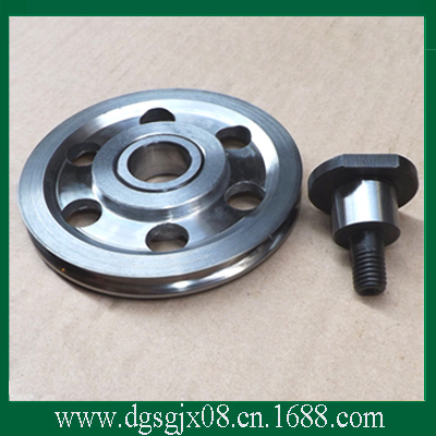 Tinning machine furnace pulley     excellent high temperature resistance idler pulley    Tungsten carbide coated pulley /roller  цены