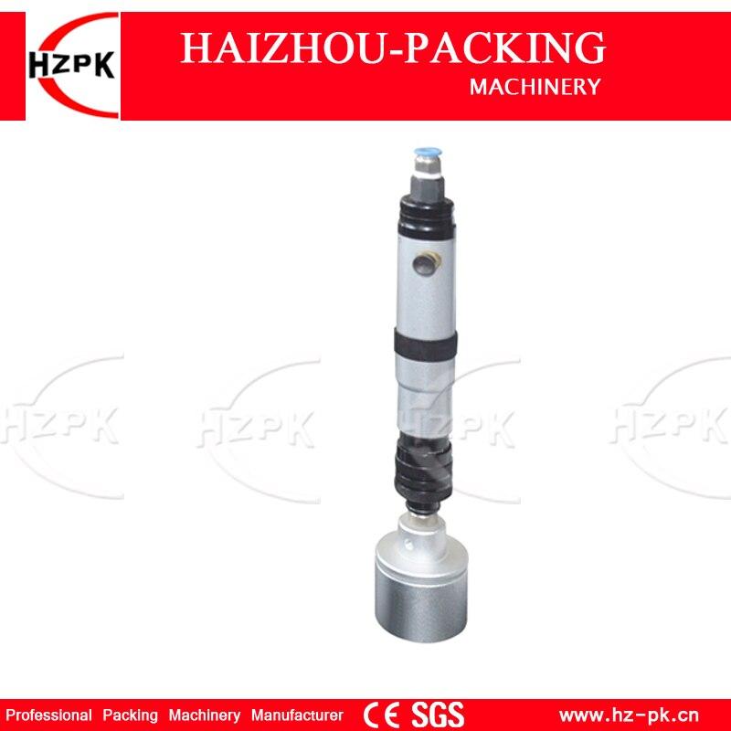 Hzpk ручка Тип пневматический укупорочные машина бытовой движение чашки запайки маленький упаковщик для напитков бутылки герметик