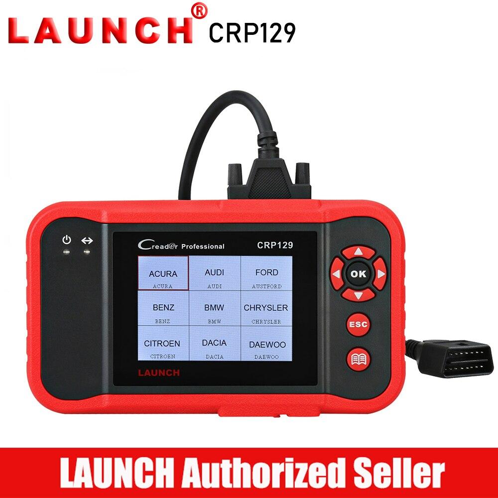 LANCEMENT Creader CRP129 OBD2 Scanner Voiture Outil De Diagnostic Auto Outils de Diagnostic Autoscanner Moteur ABS Airbag Scanner CRP 129