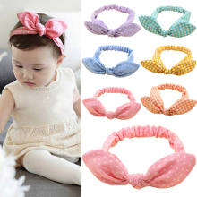 Hot Fashion 1Pc Kids Girls Baby Toddler Cute Rabbit Ear Headband Hair Band Bow Headwear 6KJ5 7ENR