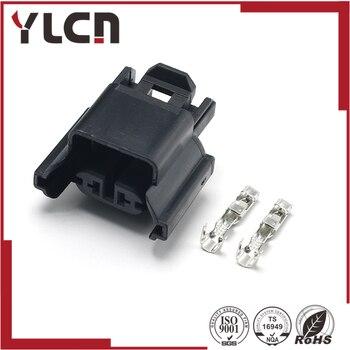 Hohe Qualität YLCN 2pin female Passat nebel stecker 3D0941165A wasserdichte kabelbaumstecker 3D0 941 165A