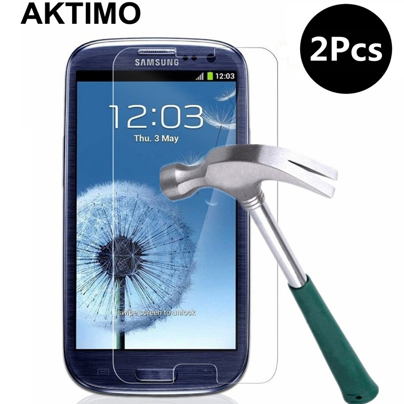 2Pcs/Lot 9H Premium Tempered Glass For Samsung Galaxy S3 Neo I9301 SIII I9300 Duos I9300i Screen Protective Protector Film