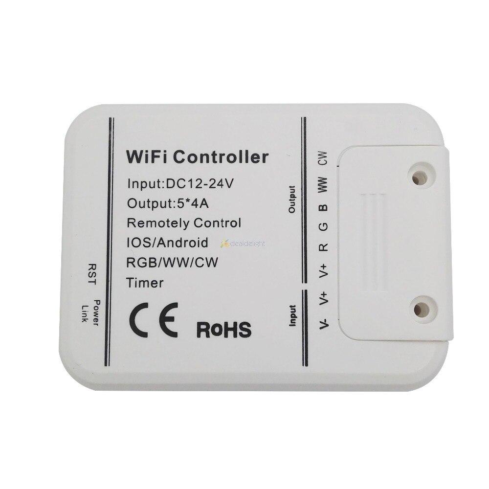 Magic Home Wifi 5 Channels Rgb Ww Cw Led Controller