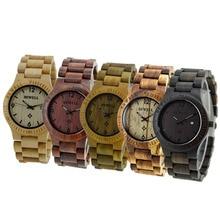 BEWELL Wooden Watch Men Women Watch Brand Fashion Quartz Wood Watch Waterproof Luminous Wristwatch with Calendar Relogio